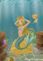 Monna under the sea by Maemy