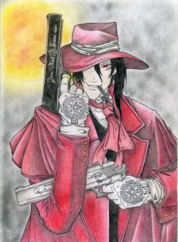 Alucard - Colored by Andrex91