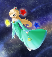 Rosalina: The One Who Watches Over the Stars by Icy-Snowflakes