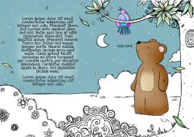 Hullo Bird said Mr Bear by HannahChapman
