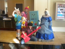 Adventure Time Group Cosplay by EtherionGirl