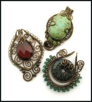vintaj trio by annie-jewelry