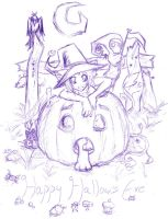 Happy Halloween by Remy-cake