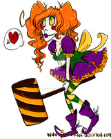 Clawdia the Clown by Quantum-Kiff