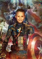 kason Captain America by coffeeandshades
