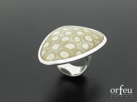 Jasper sterling silver ring by orfeujoias