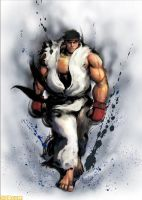 street fighter 4 ryu by batguyz