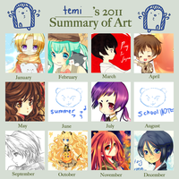 2011 art summary by temiji