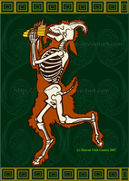 Faun skeleton by Xenothere