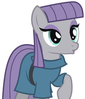 Maud's Face Vector by GreenMachine987