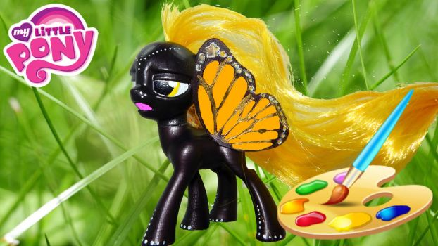 How To Make Your Own Pony Butterfly by suslovm