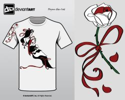 Red Alice T-Shirt Design by Flynn-the-cat