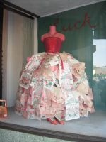 Paper Gown 1 by TrapDoor-Stock