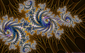 FRACTAL MANIPULATIONS: CACTI in BLOOM by CSuk-1T