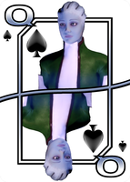 Liara - Queen Of Spades by NoAng3l