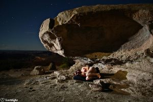 Sleeping under a rock 1 by luvbight
