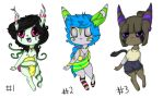 Jaspan adoptables(points) by SugarNspices