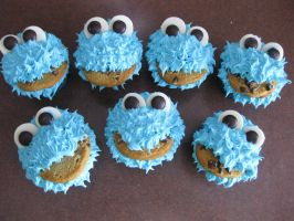 Cookie Monster by miriamculwell