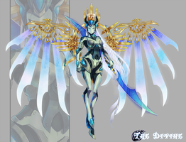 -Adoptable- THE DIVINE ~CLOSED~ by EllipticAdopts