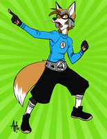 Commission - Foxydude915 by AdriOfTheDead