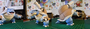 Pokemon Papercraft ~ Mega Blastoise ~ by SuperRetroBro