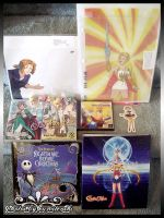 Colossalcon 2014 Goodies by kuroitenshi13