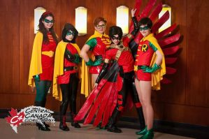 Our Full Robin Group by cats10