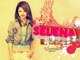 SELENA GOMEZ WALLPAPER 2 by anaxcore