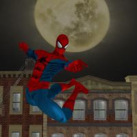 Spidey Swing!! by slasherman