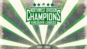 Canucks Division Champions! (Original Version) by bameroncerry
