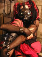 Gas Mask 01 by PleasurableObsession