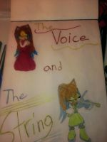 The Voice and the String cover *colored* by emerswell
