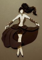 starlingthefairy's 'TARDIS Dress Concept' in Sepia by Eotena