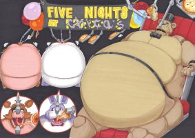 five nights of feeding part 2 by prisonsuit-rabbitman
