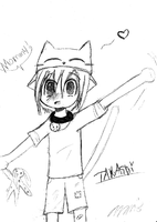 Takashi as a child by Kiwii-puff