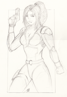 AgentJo sketch by theendofourlives by RBL-M1A2Tanker
