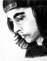 Vic Fuentes-In Thought by I-Draw-Bands