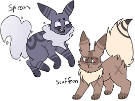 Fan-Made Eeveelutions Auction - CLOSED by swaeters