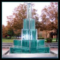 The Big Fountain at SLCC by LycanDID