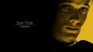 Star Trek Chekov Wallpaper by FleeceMonster