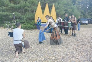 King Richard's Fair, Belly Dancing Lesson by Miss-Tbones