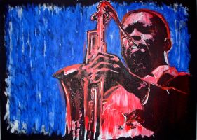 Coltrane by LeftHandOfTragedy