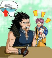 Gajeel is a bad boy by syren007
