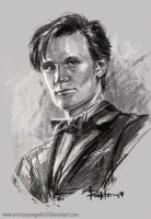 The Eleventh Doctor by ermitanyongpalits