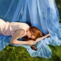 I fell asleep in the fairy forest .. by Anhen