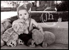 Little Punk with Teddy by TimelessImages