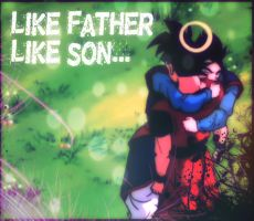 Like Father, Like Son~ by MilkshakeAngelz