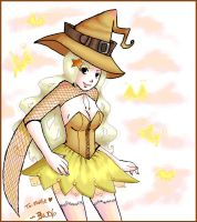 Yellow Witch - For Mollie by puffypanda