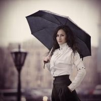 olga under rain by psychiatrique