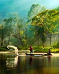 Morning Fishing by thesaintdevil